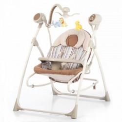 Кресло-качалка 3 в 1 Carrello Nanny CRL-0005 Beige Stripe