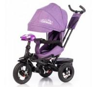Велосипед трехколесный Tilly Cayman с пультом T-381/2 Purple