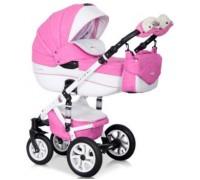 Коляска Riko Brano Ecco 18 Baby pink
