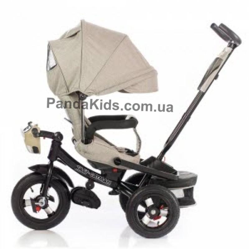 Велосипед трехколесный Tilly Cayman с пультом T-381/2 Beige