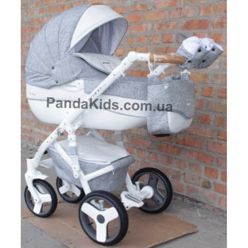 Коляска Riko Brano Luxe 05 Grey Fox